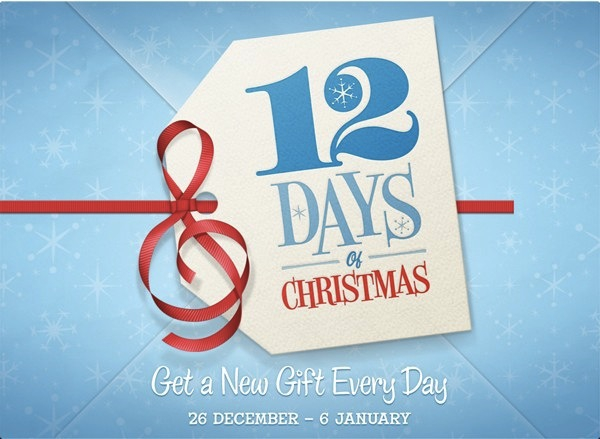 12 days of christmas gifts itunes match