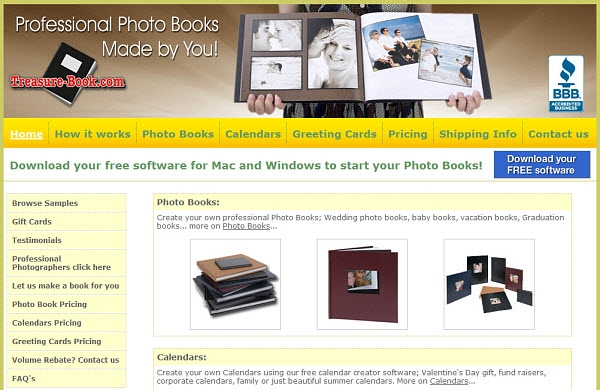 Treasure-Book.com Photo Book Review