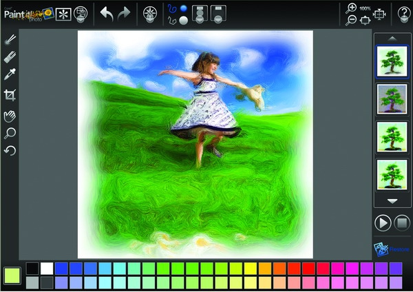 Digital home thoughts corel paint it touch released for Digitally paint your house