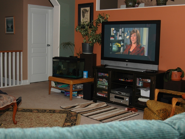 Pics Photos Huge Large Screen Tv And Leather Living Room Suite Are