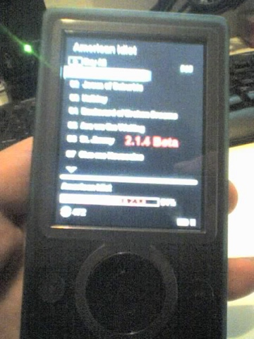 Zune thoughts daily news, views, rants and raves.