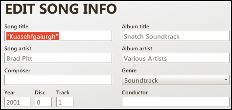 how to pick order of tracks on album
